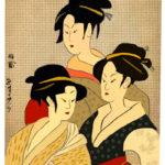 three ladies oriental